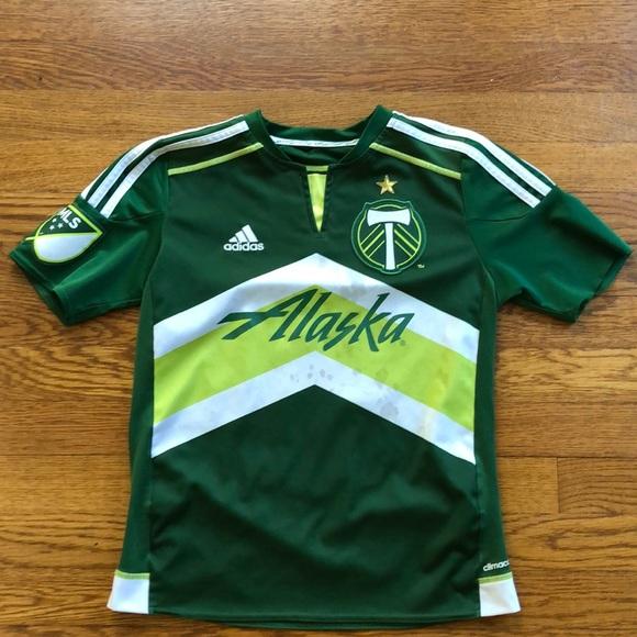 pretty nice dcaaf 7dcff MLS Portland Timbers Adidas Kids Soccer Jersey